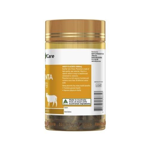 healthy care sheep placenta 5000mg 1